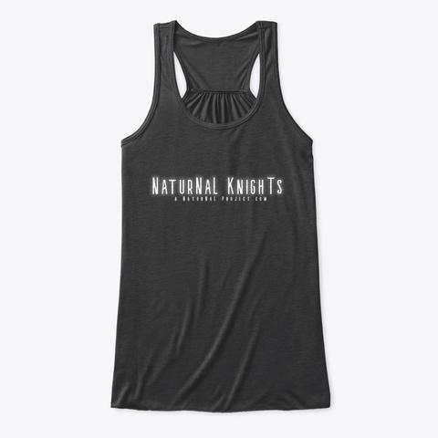 Natur Na L Knights  Dark Grey Heather T-Shirt Front