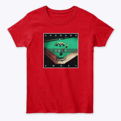 Pov Pool: Upgrade Your Sweat Red T-Shirt Front