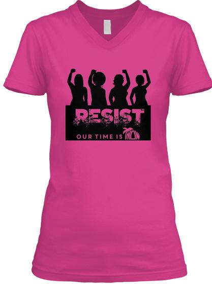 Fl Now Resist 2017 Original Berry T-Shirt Front