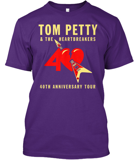 40th anniversary tom petty the heartbreakers tour. Black Bedroom Furniture Sets. Home Design Ideas