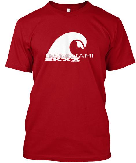 Trumpnami 2 Kxx Don John Tm Deep Red T-Shirt Front