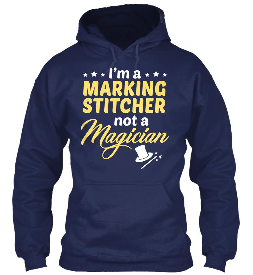 Marking Stitcher - Not Magician SweatShirt