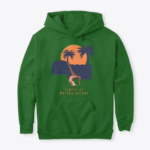 Mother Nature Irish Green Camiseta Front