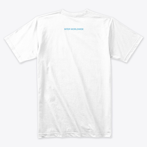 Inter Collection (Inverse) White T-Shirt Back