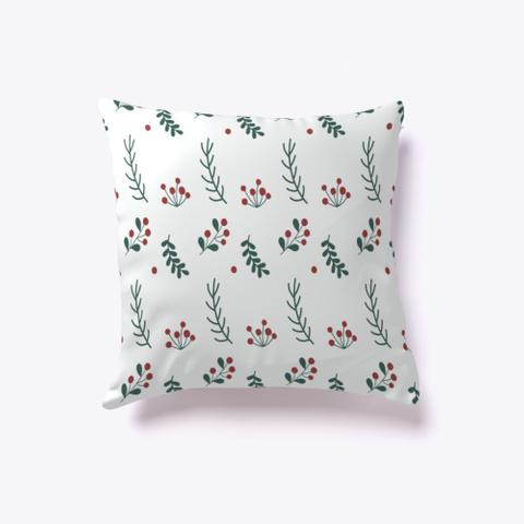 Christmas Flower Pillow Standard T-Shirt Back