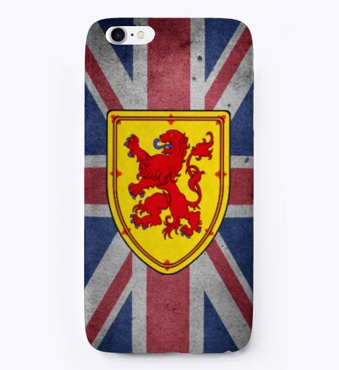Scottish And British I Phone Cover Standard T-Shirt Front
