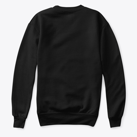 Sweatshirt: Magic Black T-Shirt Back