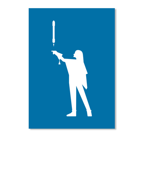 Falconer 3 Woman Sticker [Int] #Sfsf Royal Blue Sticker Front
