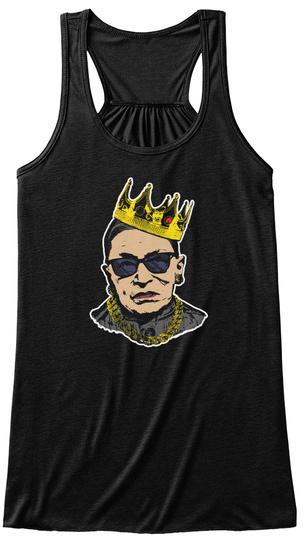 Notorious Rbg Womens Tanktop Black T-Shirt Front