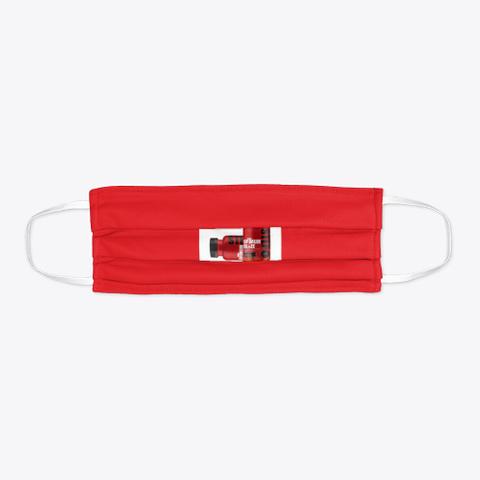 Optmum Blaze Red T-Shirt Flat