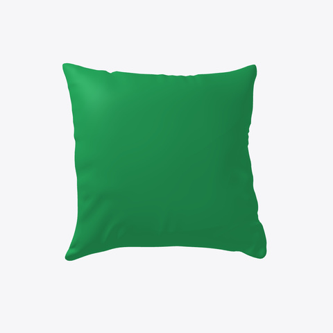 Crazy Chicken Lady Pillow Cover Green T-Shirt Back