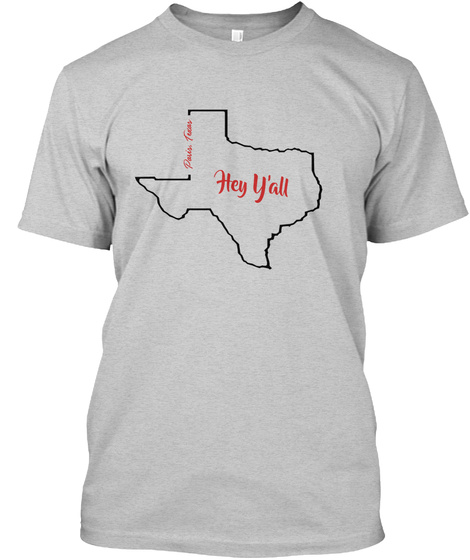 Paris, Texas Light Steel T-Shirt Front