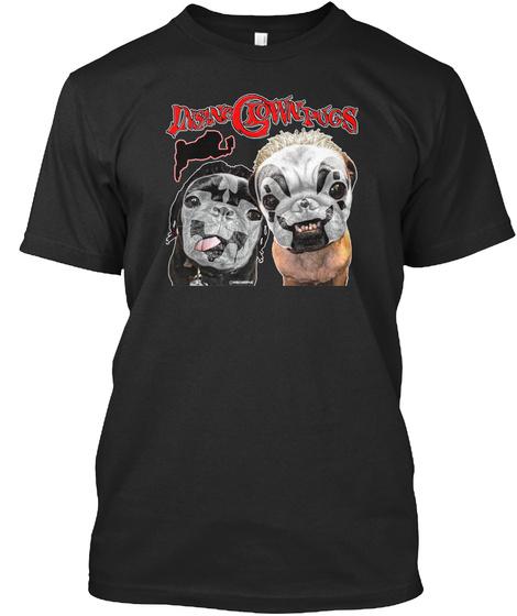 Insane Glown Pugs Black T-Shirt Front