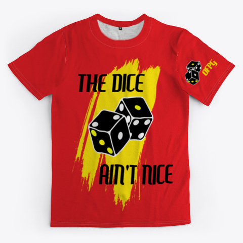 Ofpg   The Dice Ain't Nice Red T-Shirt Front