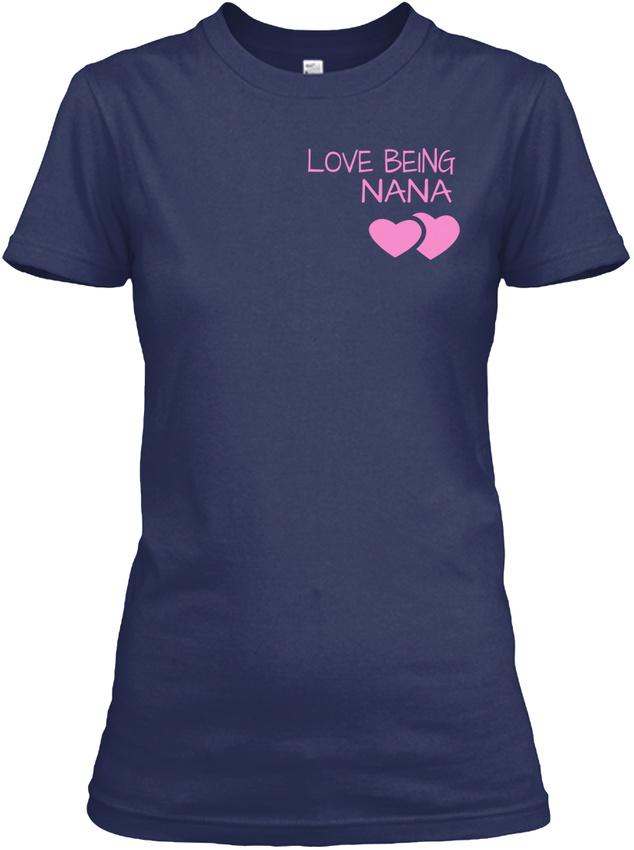 Nana-The-Moment-Tee-Children-Version-Love-Being-Gildan-Women-039-s-Tee-T-Shirt thumbnail 8