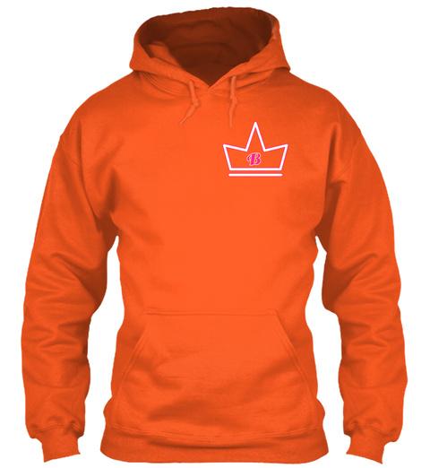 B Burnt Orange T-Shirt Front