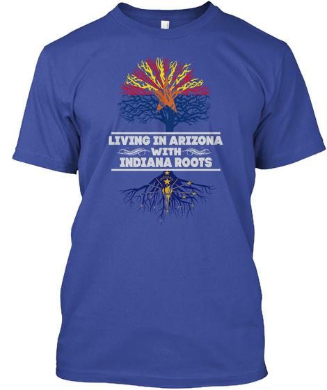 ARIZONA WITH INDIANA ROOTS SHIRTS Unisex Tshirt