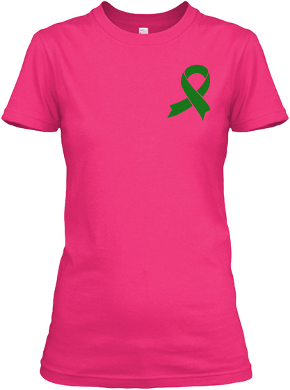 Choose Life &Amp; Fight!Tbi Awareness Heliconia T-Shirt Front