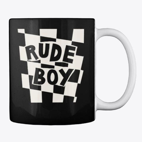 Eddie Rude Boy Mug Black T-Shirt Back