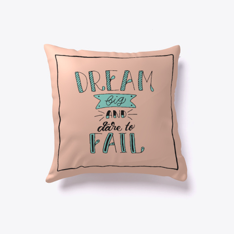 Vintage Quote Pillow White T-Shirt Front