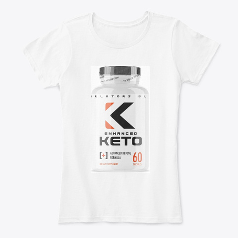 Enhanced Keto Bhb Boost Official ® 2020 White Kaos Front