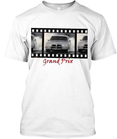 Grand Prix White T-Shirt Front
