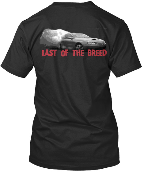 Last Of The Breed Black T-Shirt Back