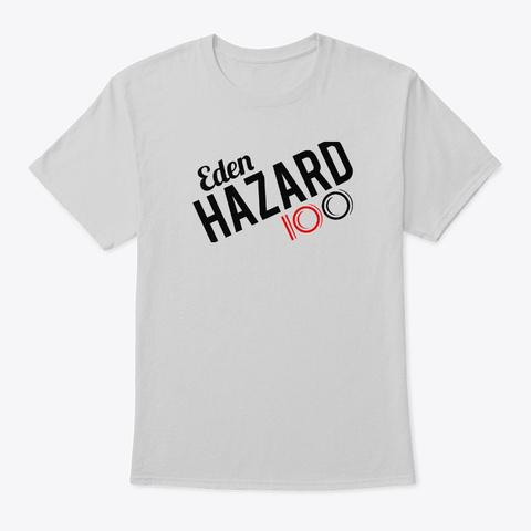 Eden Hazard   100 Light Steel T-Shirt Front
