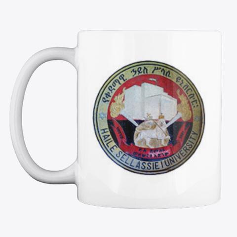 Haile Selassie I University Classic Mug White T-Shirt Front