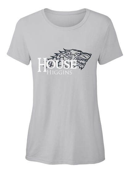 Higgins Family House   Wolf Sport Grey Camiseta Front