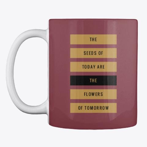 Gardening Slogan Mug, Cup, China,Drink Maroon T-Shirt Front