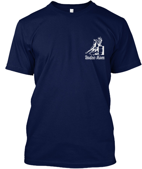 Rodeo Mom Navy T-Shirt Front