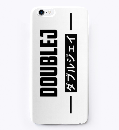 Double J Japanese Design Phone Case Standard T-Shirt Front