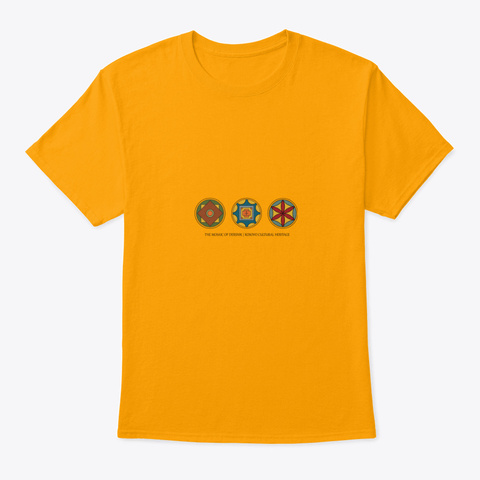 The Mosaic Of Dersnik   Kosovo Gold T-Shirt Front