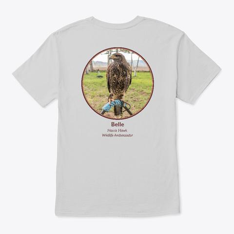 Belle The Harris Hawk Light Steel T-Shirt Back