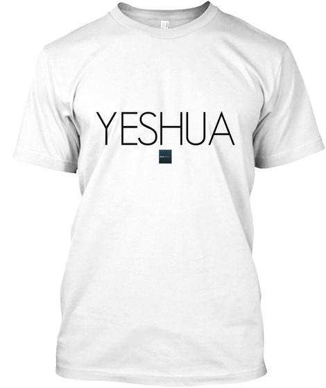 Yeshua White T-Shirt Front