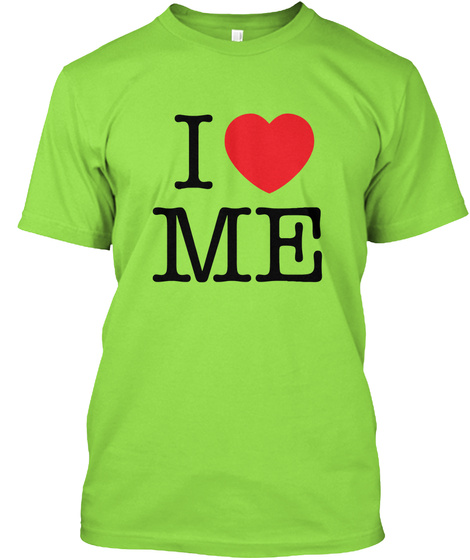 I Love Maine   Valentiens Day Lime T-Shirt Front
