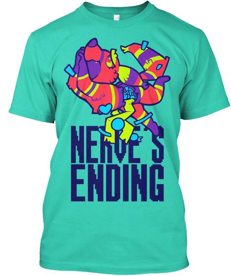 Nerve's Ending Mint T-Shirt Front