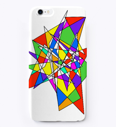 Abstract Colour Pop (Us Delivery) Standard T-Shirt Front