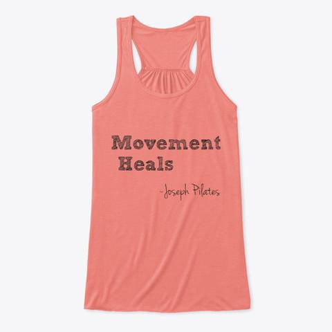 Movements Heals Coral T-Shirt Front