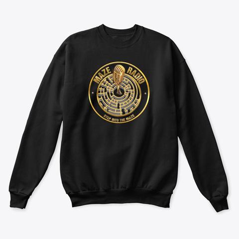 Maze Sweatshirts  Black T-Shirt Front