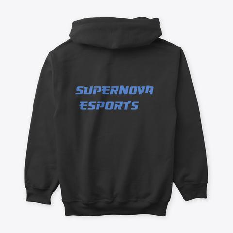 Dash X Super Nova E Sorts (Dark) Black T-Shirt Back