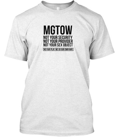 MGTOW GRAY TEE