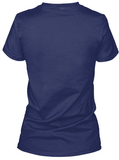Stained Glass Navy T-Shirt Back