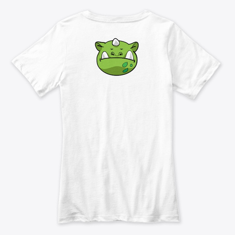 Thrankamon White T-Shirt Back