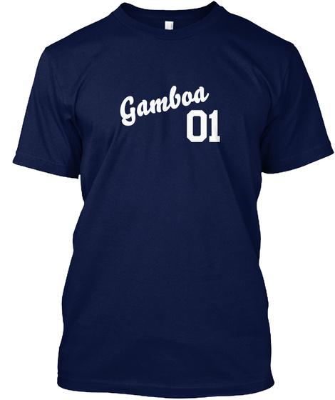 Gamboa Varsity Legend Navy T-Shirt Front