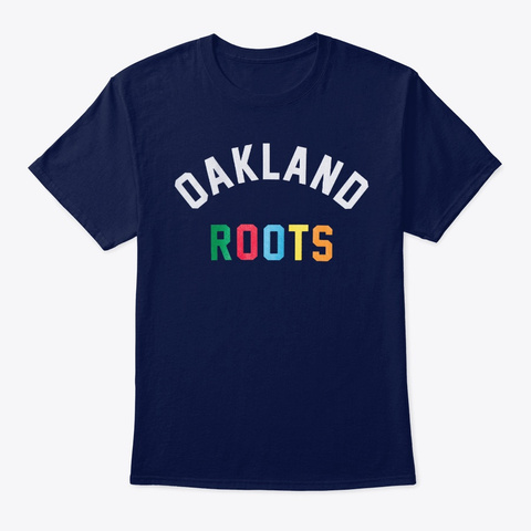 Root Shirt Navy T-Shirt Front