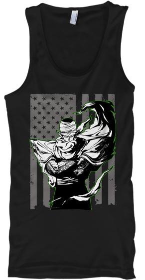 Piccollo   Ts00010 Tt Black T-Shirt Front