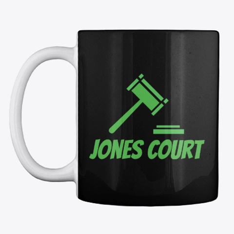 Jones Court Black T-Shirt Front