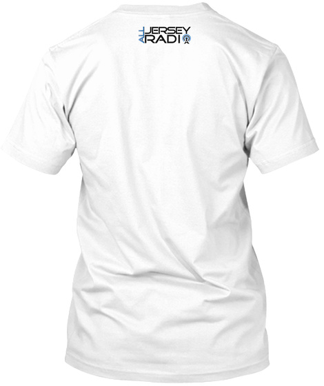 Trap And  Jersey  White T-Shirt Back